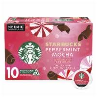 Starbucks Peppermint Mocha Ground Coffee K-Cup Pods