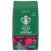 Starbucks Decaf Caffe Verona Dark Roast Ground Coffee