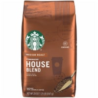 Starbucks House Blend Medium Roast Ground Coffee