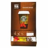 VIA Ready Brew Coffee, 3/25oz, Italian Roast, 50/Box 11008130