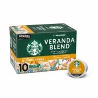 Starbucks® Veranda Blend® Blonde Roast Coffee K-Cup Pods - 10 ct