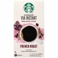 Starbucks Via French Dark Roast Instant Coffee 8 Count