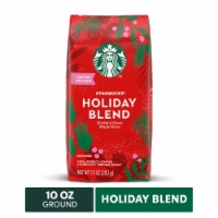 Starbucks Holiday Blend Medium Roast Ground Coffee