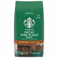 Starbucks Pike Place Medium Roast Decaffeinated Ground Coffee