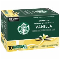 Starbucks Vanilla Flavored Coffee K-Cup Pods - 10 ct