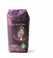 Starbucks Sumatra Dark Roast Whole Bean Coffee - 16 oz