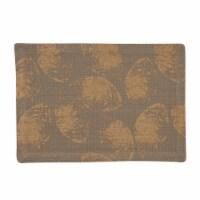 Split P Gold Leaf Placemat Set - Gray