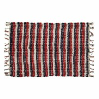 Park Designs Stars And Stripes Chindi Placemat Set - Red, White, & Blue