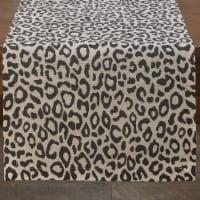 Split P Safari Leopard Table Runner - 72''L - Natural - 1 table runner