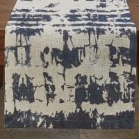 Split P Indigo Printed Table Runner - 72''L - Blue - 1 table runner