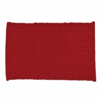 Park Designs Chadwick Placemat Set - Red - 4 placemats