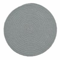 Split P Essex Round Placemat Set - Blue Mist
