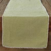 Split P Frayed Edge Table Runner - 72''L - Pear