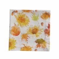 Split-P Sweet Autumn Napkin Set - White