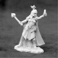 Reaper Miniatures REM03930 Dark Heaven Legends Selene, Female Cleric Glenn Harris Miniature