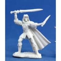 Reaper Miniatures 77030 Bones - Danar, Male Assassin
