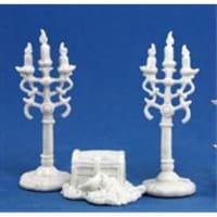 Reaper Miniatures 77138 Bones - Treasure & Candleabra