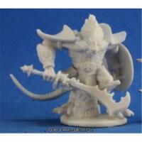 Reaper Miniatures REM77214 25mm Scale Kar Drakir, Dragonman - Bones - 1