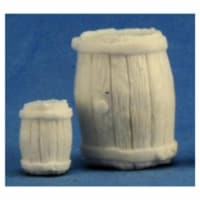 Reaper REM77249 Bones Large Barrel & Small Barrel Miniature Figures