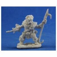 Reaper Miniatures REM77330 Bones Derro Leader Miniature Reaper