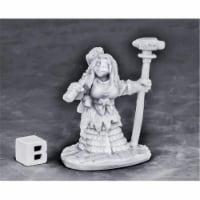 Reaper Miniatures REM77571 Bones - Dwarf Forge Priestess W3 Miniatures