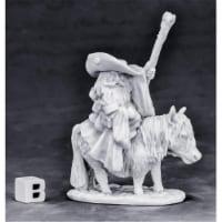Reaper Miniatures REM77575 Bones - Dwarf Mounted Battle Mage W3 Miniatures