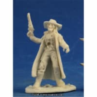 Reaper Miniatures REM91005 25mm Scale Undead Outlaw, Bob Ridolfl - Savage Worlds & Bones