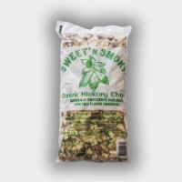 Chigger Creek Sweet' N Smoky Ozark Hickory Wood Smoking Chips 200 cu. in. - Case Of: 1; - Count of: 1