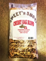 Chigger Creek Sweet' N Smoky Cherry Oak Blend Wood Smoking Chips 200 cu. in. - Case Of: 1; - Count of: 1