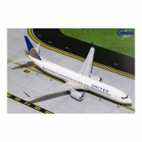 Gemini Jets G2UAL752 7 x 8.25 in. No. N67501 737MAX9 Diecast Model United Airlines with Scale - 1