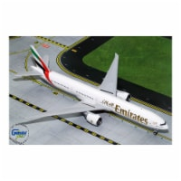 Gemini Jets G2UAE771 12.75 x 14.5 in. No. A6-ENU 777-300ER New Expo Emirates Airlines 2020 wi - 1