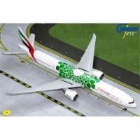 GeminiJets G2UAE799 1 by 200 Scale Emirates 777-300ER Green Expo 2020 Registration No.A6EPU M - 1