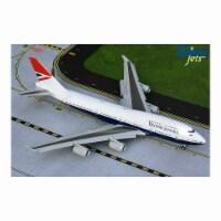 Gemini200 G2BAW841F British 747-400 1-200 Negus Flaps Down Reg No. G-Civb Aircraft - 1