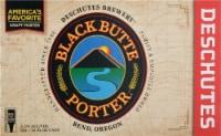 Deschutes Brewery Black Butte Porter Beer - 6 cans / 12 fl oz