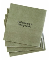 Hallmark 6521082 Fatherhood is Thirsty Work Napkins Paper, Assorted - 20 per Case, Pack of 4