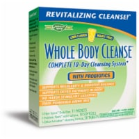 Enzymatic Therapy Lemon Flavor Whole Body Cleanse with Probiotics
