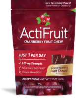 Enzymatic Therapy ActiFruit Cranberry Soft Chew