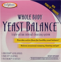 Enzymatic Therapy Whole Body Yeast Balance Internal cleansing System