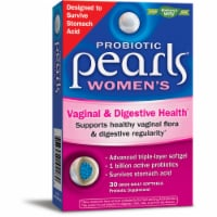Enzymatic Therapy Probiotic Pearls Women's Vaginal & Digestive Health Probiotic Supplement Softgels
