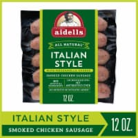 Aidells Italian Style with Mozzarella Cheese Smoked Chicken Sausage 4 Count