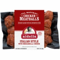 Aidells Italian Style with Mozzarella Cheese All Natural Chicken Meatballs