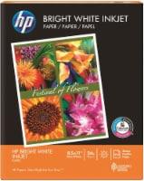 HP Bright White Inkjet Paper - 500 Pack - 8.5 x 11-Inch