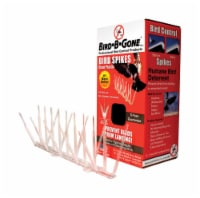 Bird-B-Gone Bird Repelling Spikes For Assorted Species 1 pk - Case Of: 1; Each Pack Qty: 1; - Count of: 1
