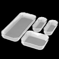 madesmart® Clear Bin Pack 4 Piece