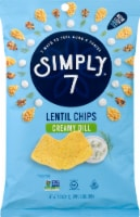 Simply 7 Creamy Dill Lentil Chips