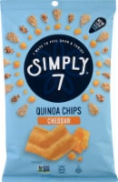 Simply7 Barbeque Quinoa Chips