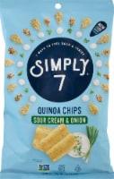 Simply 7 Quinoa Chip Sour Cream & Onion - 3.5 oz