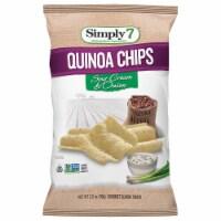 Simply 7 Sour Cream and Onion Quinoa Chips, 3.5 Ounce -- 12 per case. - 5