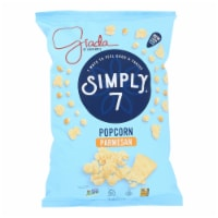 Simply7 Popcorn - Parmesan Cheese - Case of 12 - 4.4 oz - Case of 12 - 4.4 OZ each
