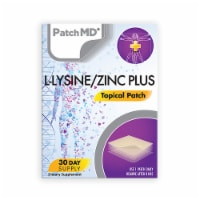 PatchMD - L-Lysine/Zinc Plus and D3/K2 Topical Patches - 30 Days Supply Combo Pack - 60